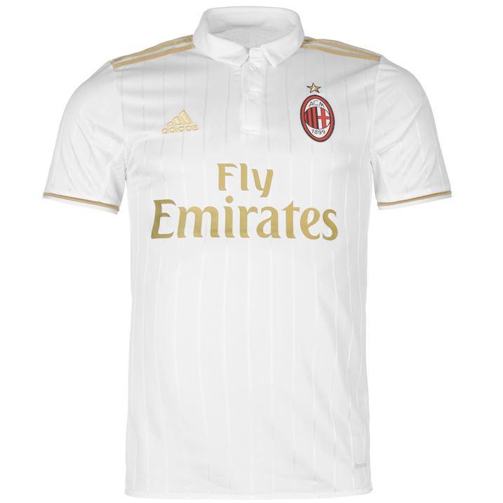 20162017 AC Milan Adidas Away Football Shirt