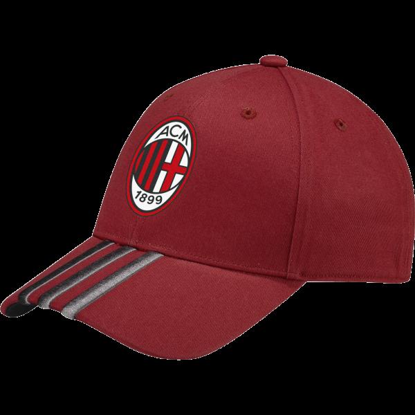 20162017 AC Milan Adidas 3S Cap (Red)