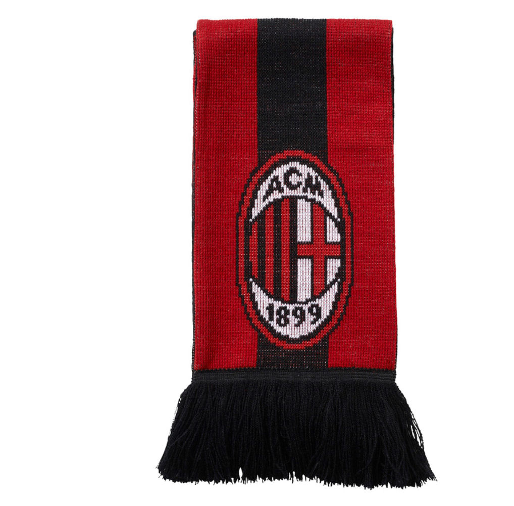 20162017 AC Milan Adidas Scarf (RedBlack)