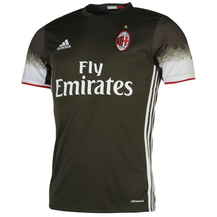 20162017 AC Milan Adidas Third Football Shirt