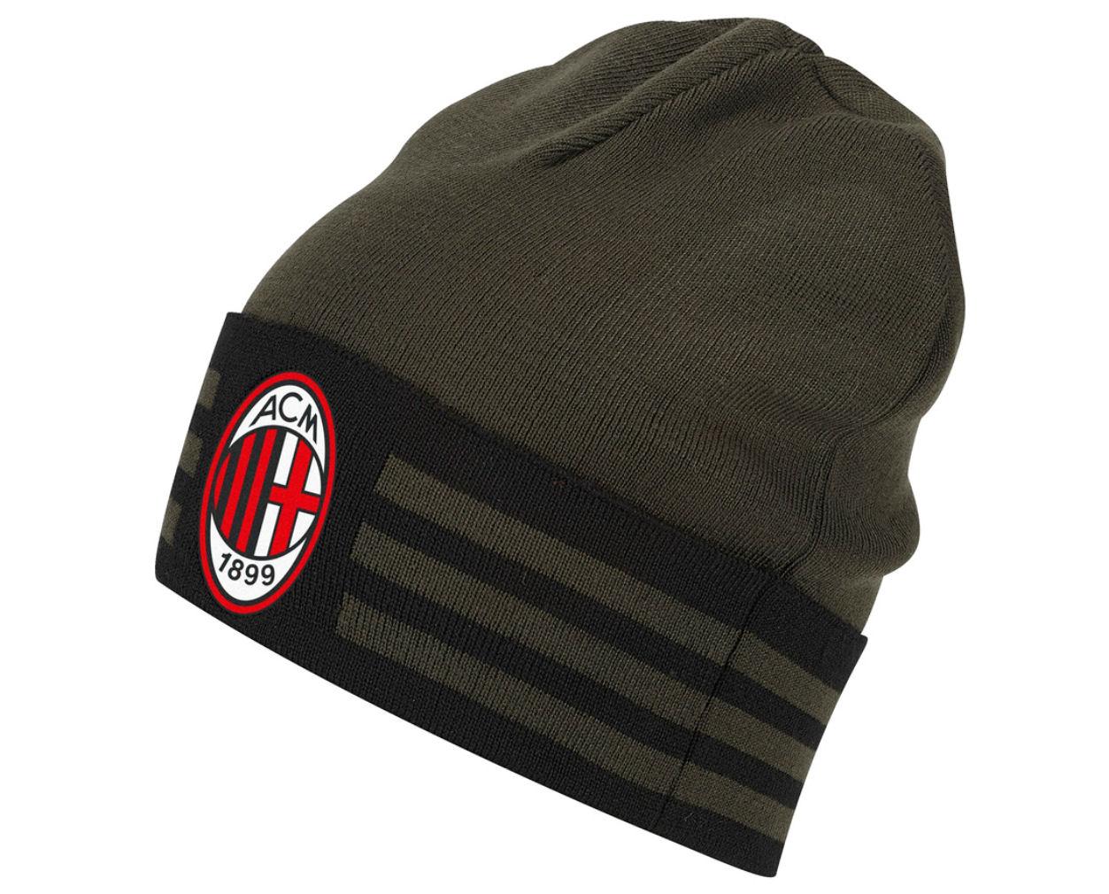20162017 AC Milan Adidas 3S Woolie Hat (Night Cargo)