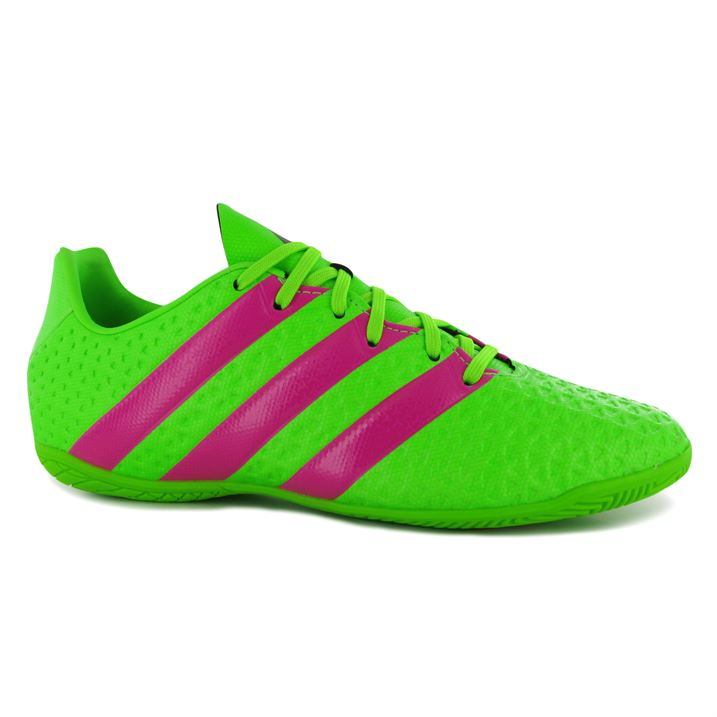adidas Ace 16.4 Mens Indoor Football Trainers (Solar Green)