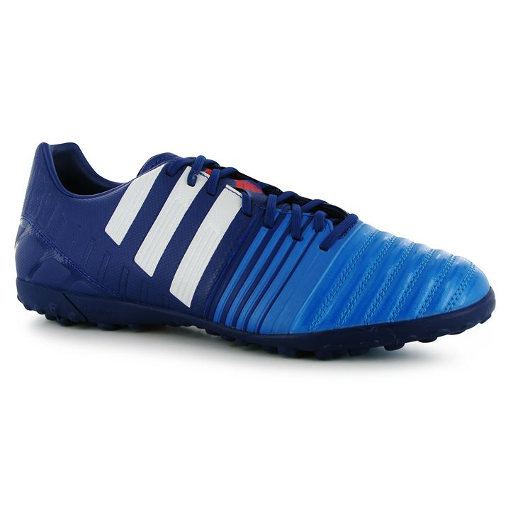 adidas Nitrocharge 3.0 Mens Astro Turf Trainers (Amazon PurpleWhiteBlue)
