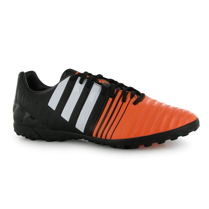 adidas Nitrocharge 3.0 Mens Astro Turf Trainers (BlackWhiteFlash)