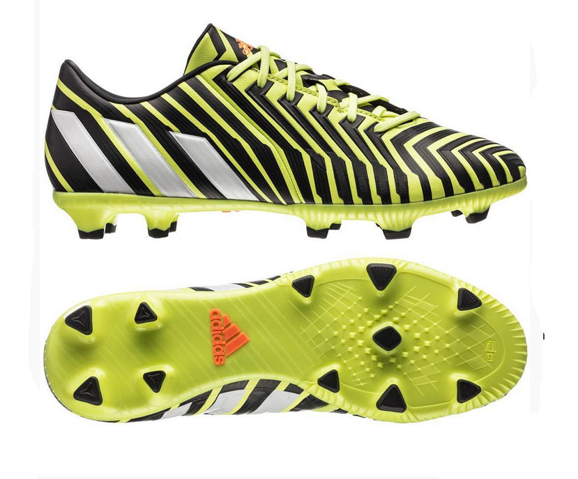 adidas Predator Absolado Instinct FG Football Boots (YellowWhiteGrey)