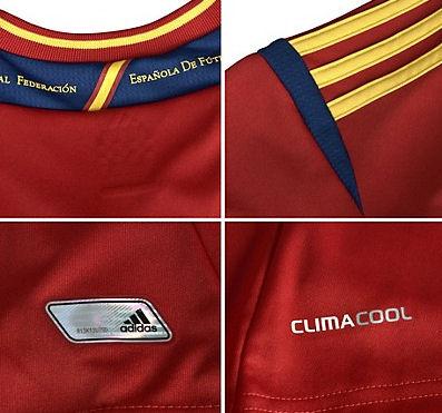 Detalles camiseta España Eurocopa 2012
