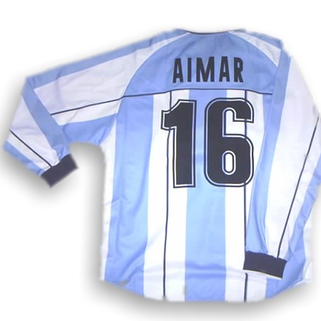Argentina home 2001 (Aimar 16)