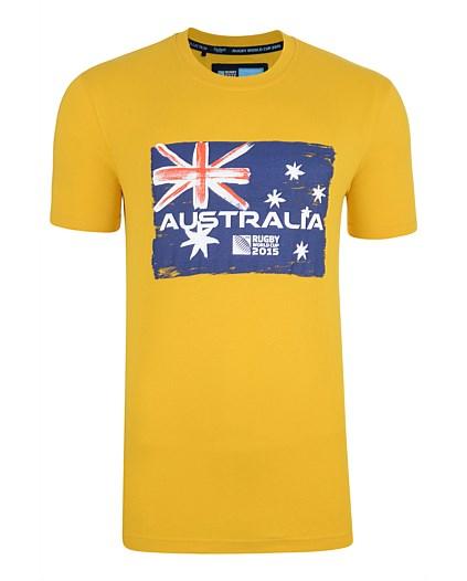 Australia Rwc 2015 Rugby T-shirt (yellow)