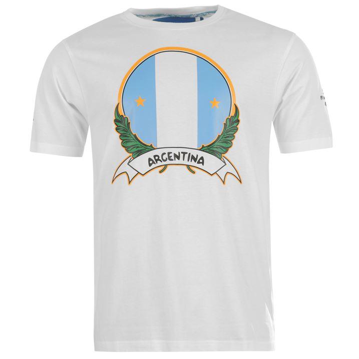 Argentina 2014 FIFA Flag Tee (White)