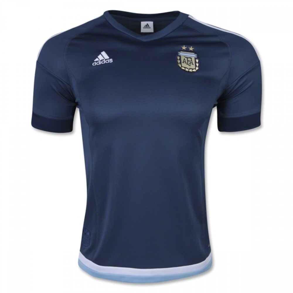 2015-2016 Argentina Away Adidas Football Shirt