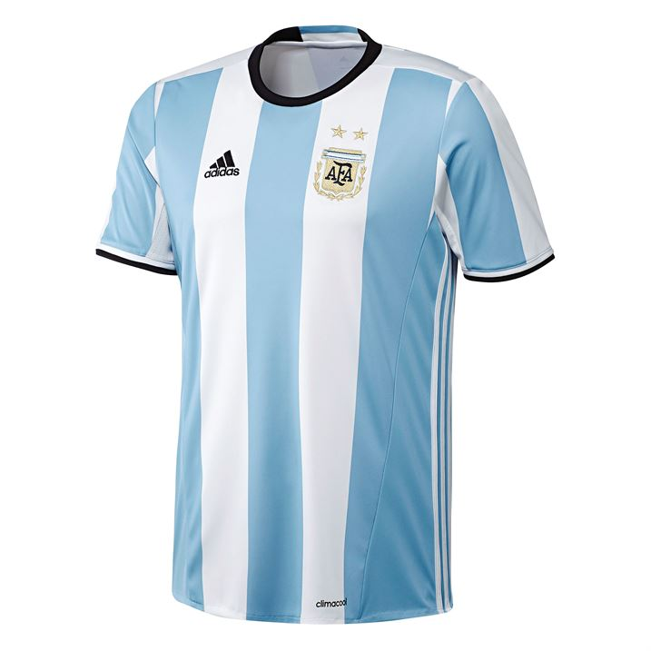 20162017 Argentina Home Adidas Football Shirt