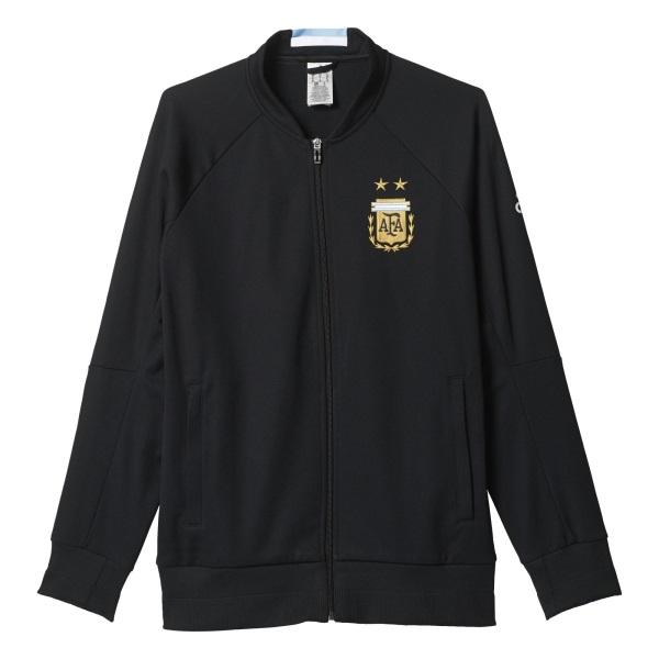 2016-2017 Argentina Adidas Knit Anthem Jacket (Black)