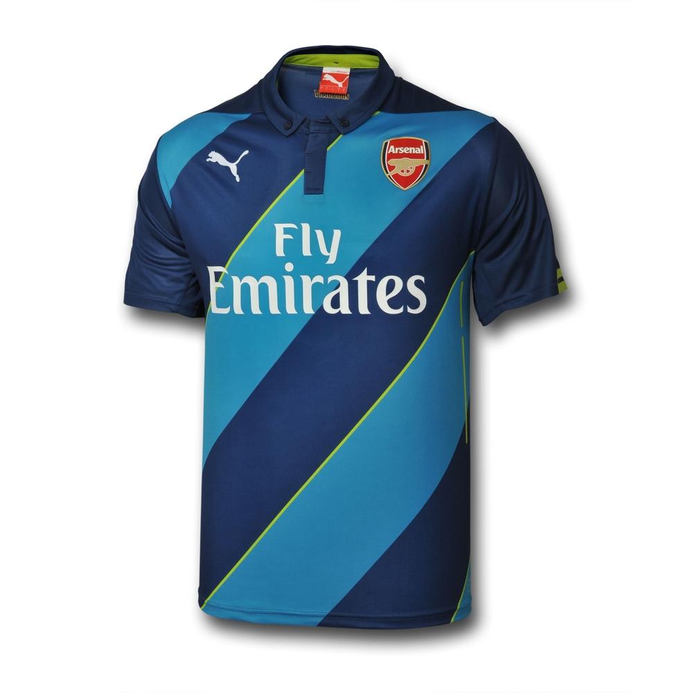 2014-2015 Arsenal Puma Third Cup Football Shirt