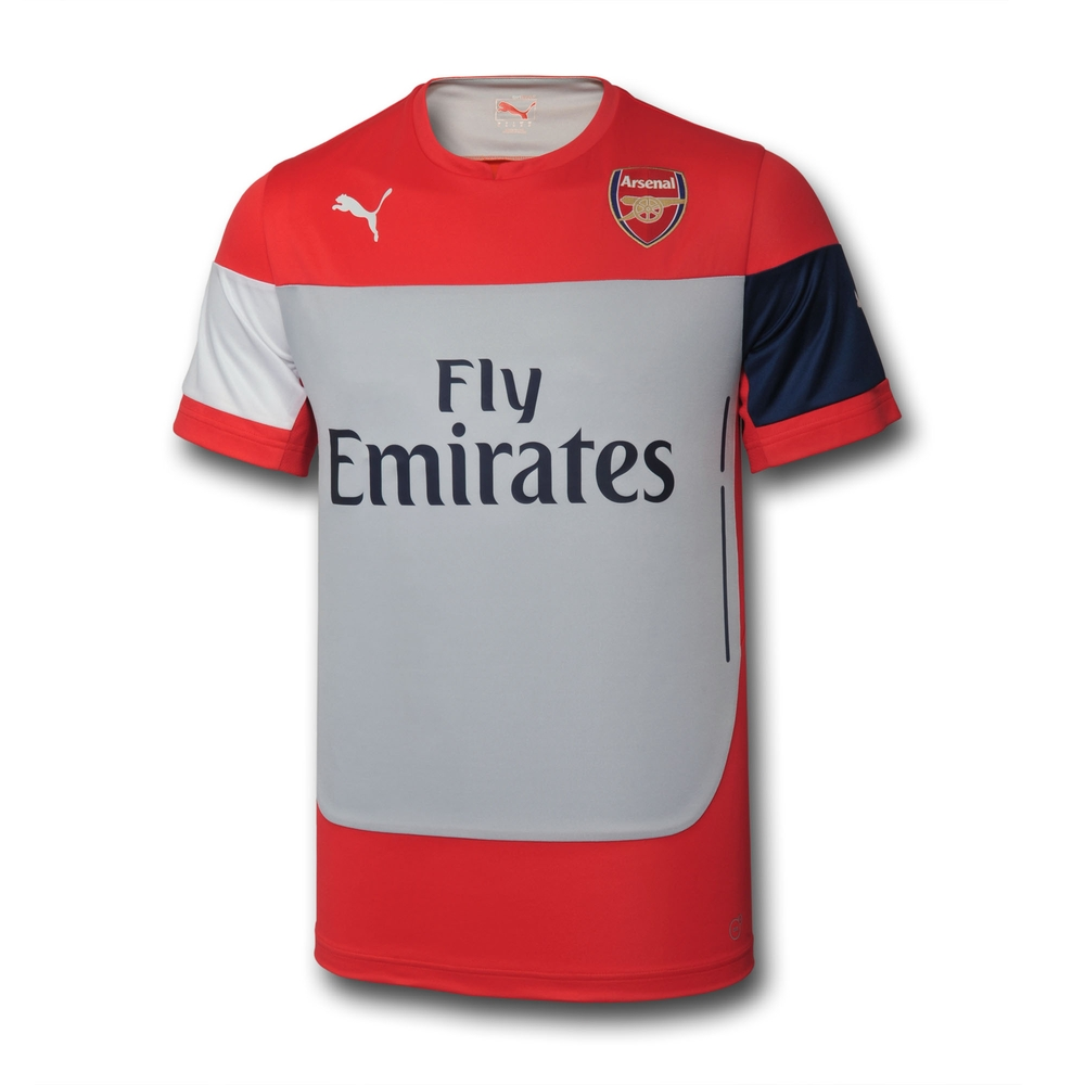 2014-2015 Arsenal Puma Pre-Match Top (Red)
