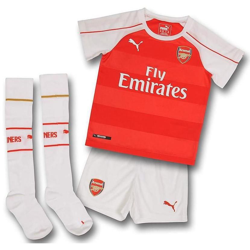 20152016 Arsenal Home Little Boys Mini Kit