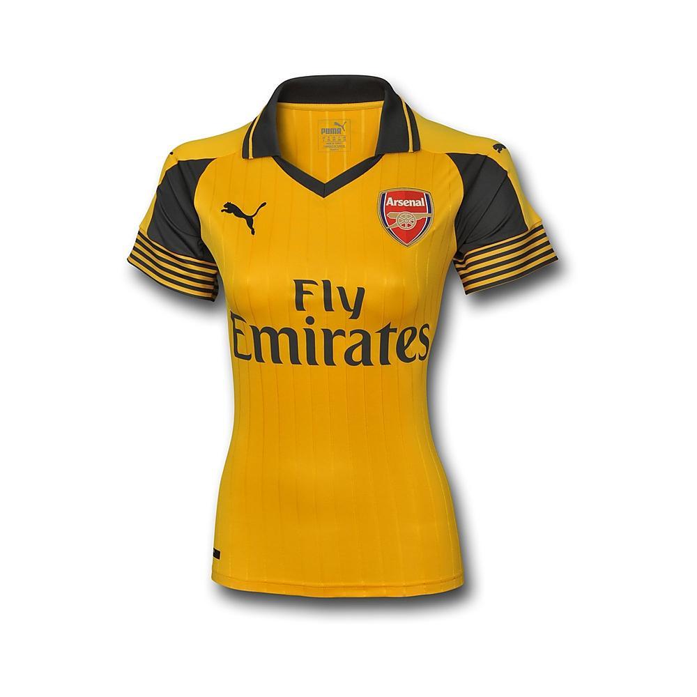 2016-2017 Arsenal Puma Away Ladies Shirt