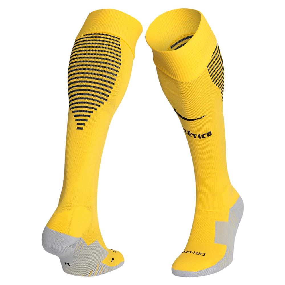 2016-2017 Atletico Madrid Nike Away Socks (Yellow)