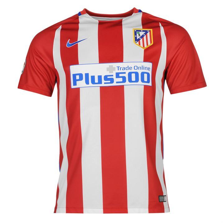 2016-2017 Atletico Madrid Home Nike Football Shirt