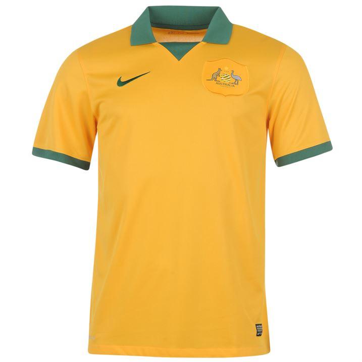 201415 Australia Home World Cup Football Shirt