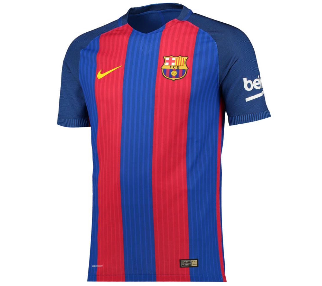 2016-2017 Barcelona Authentic Home Nike Shirt