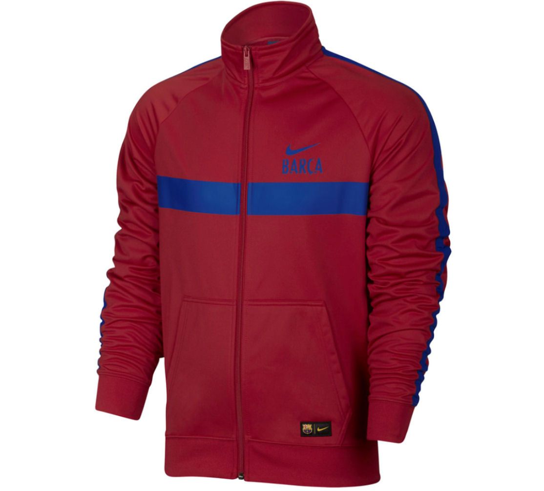 Image of 2016-2017 Barcelona Nike Core Trainer Jacket (Red)