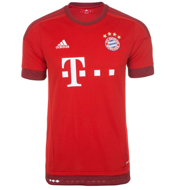 2015-2016 Bayern Munich Adidas Home Football Shirt