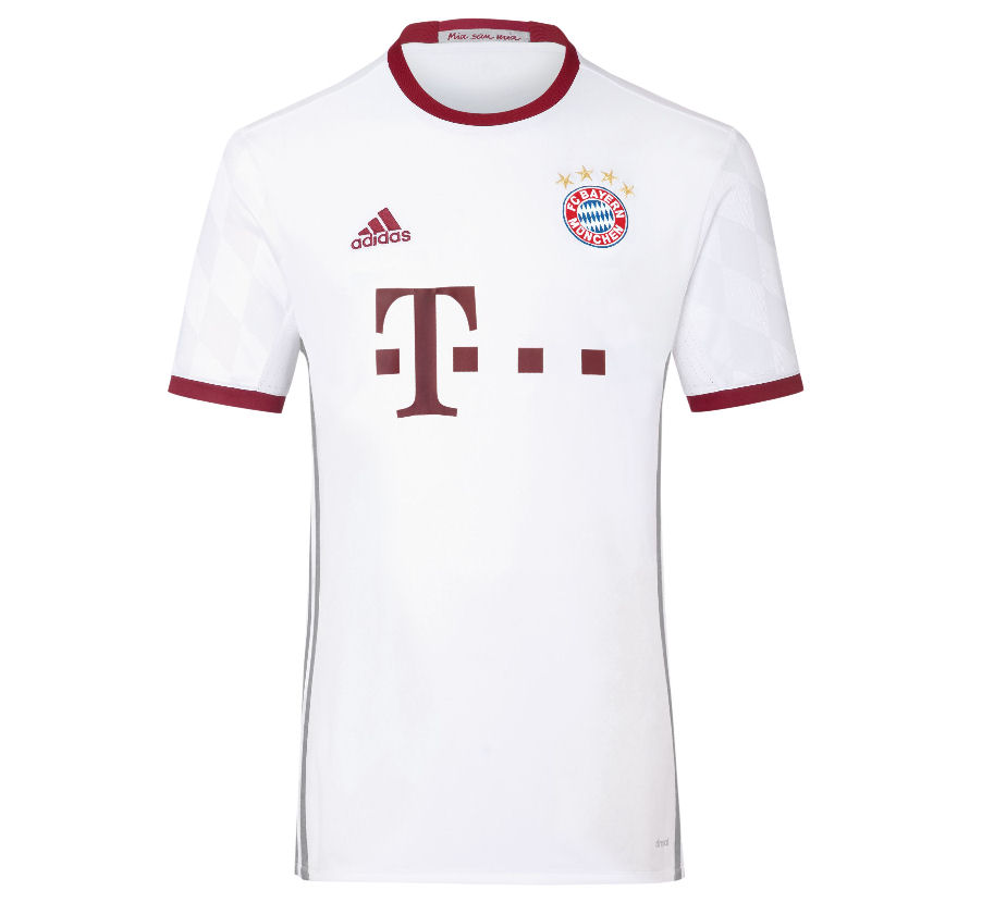 men short sleeve soccer jersey 2016 17 bayern munich away shirt (starke 22) 2016 2017 bayern munich