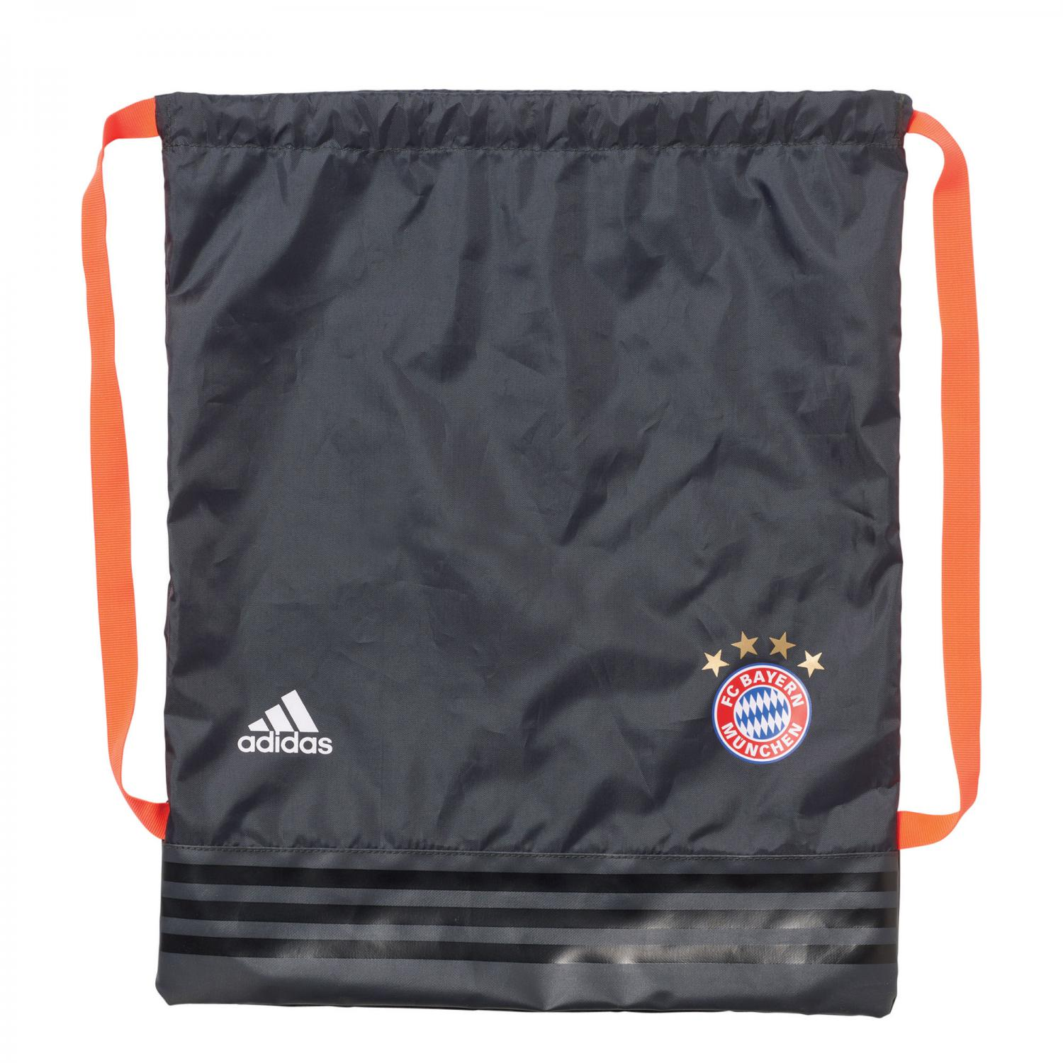 20162017 Bayern Munich Adidas Gym Bag (Solid Grey)