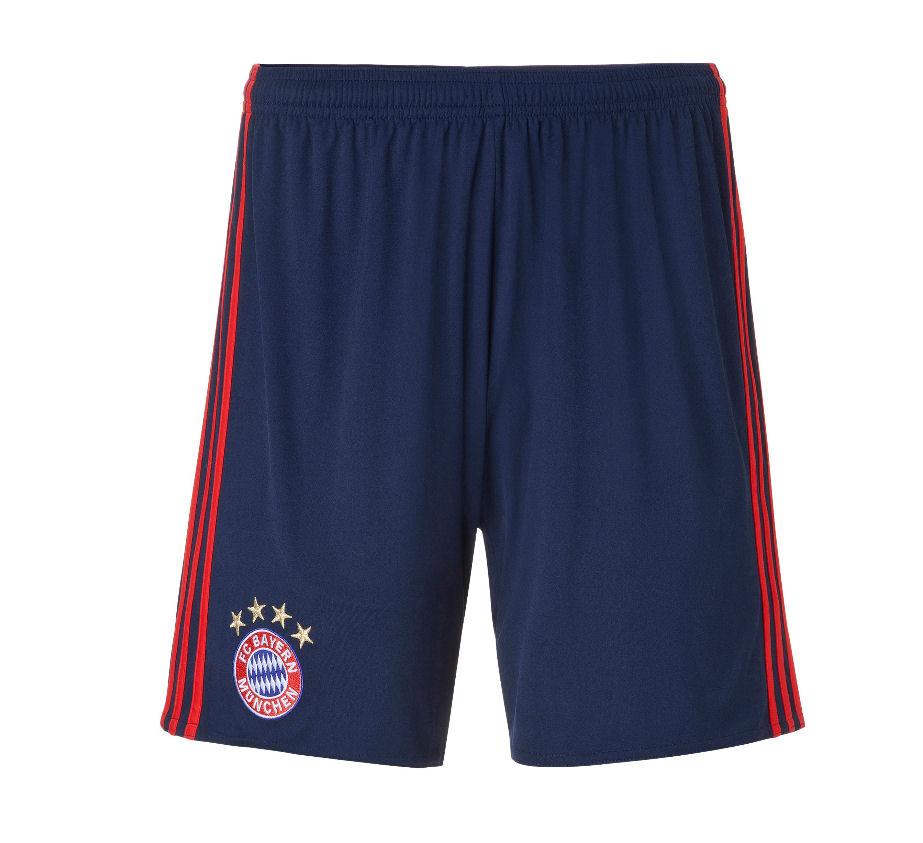 20162017 Bayern Munich Adidas Home Goalkeeper Shorts (Night Indigo)  Kids