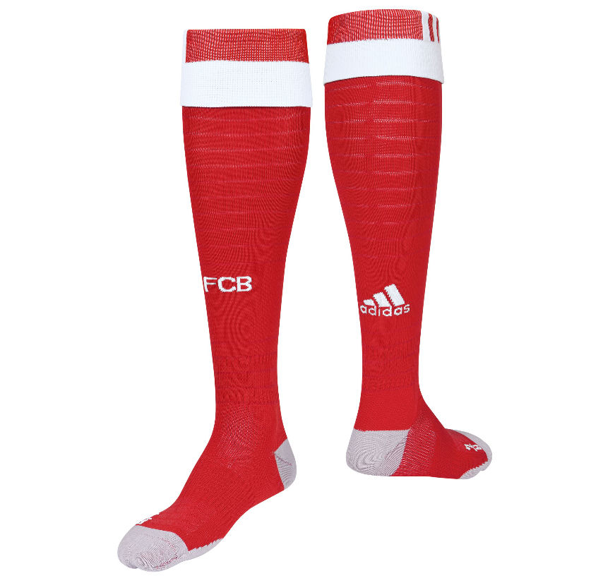 20162017 Bayern Munich Adidas Home Football Socks (Red)