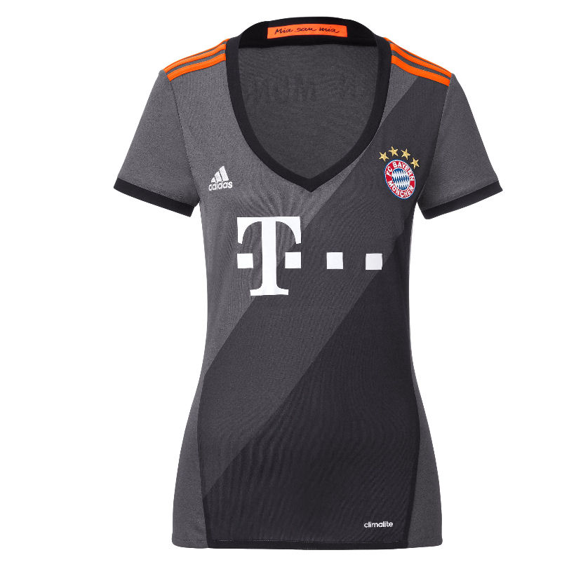 20172017 Bayern Munich Adidas Away Womens Shirt