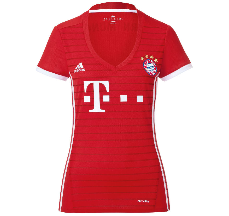 20172017 Bayern Munich Adidas Home Womens Shirt