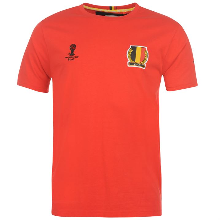 Belgium 2014 FIFA Core Tee (red) - Kids