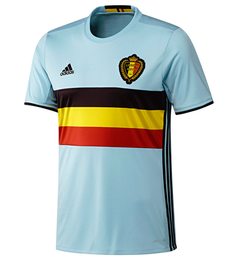 2016-2017 Belgium Away Adidas Football Shirt (Kids)
