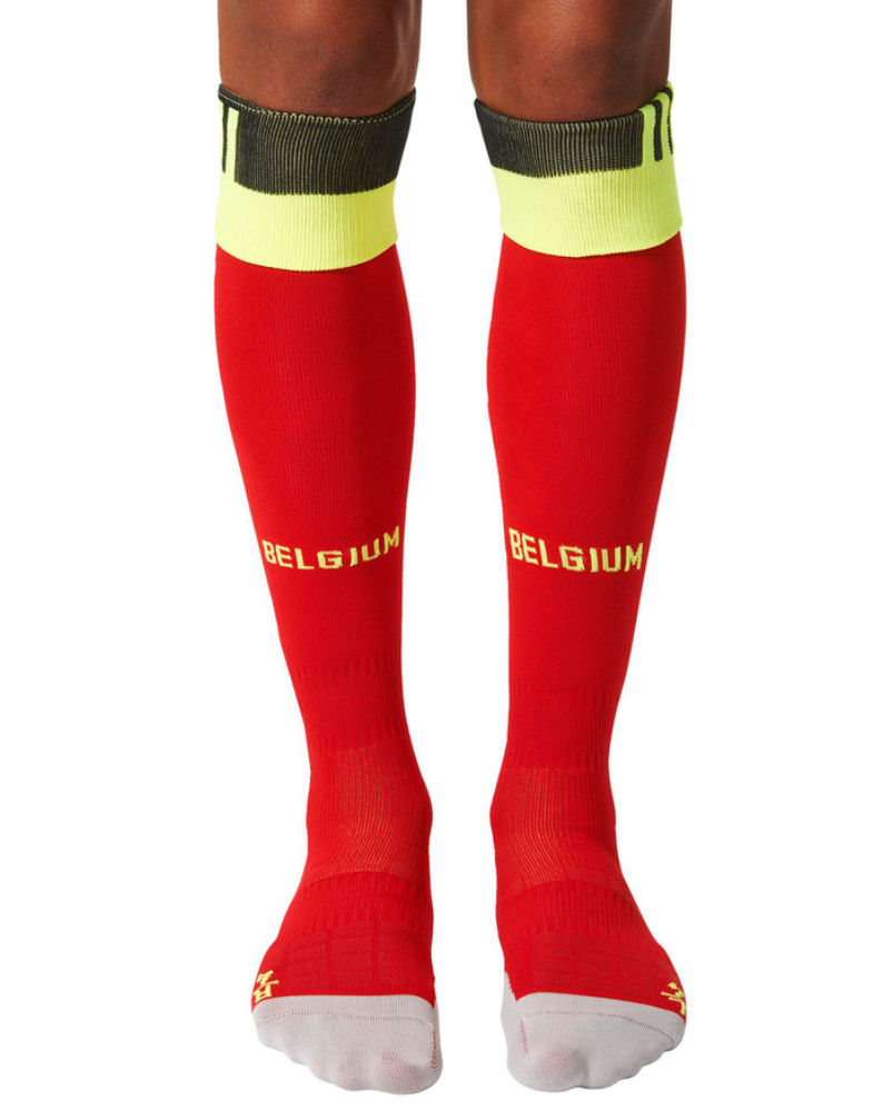 20162017 Belgium Home Adidas Football Socks (Red)