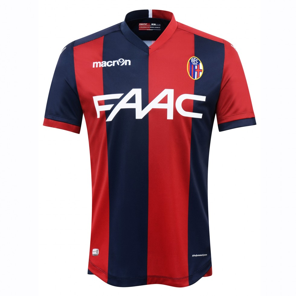 2016 2017 Bologna Authentic Home Match Shirt Achat Et Vente