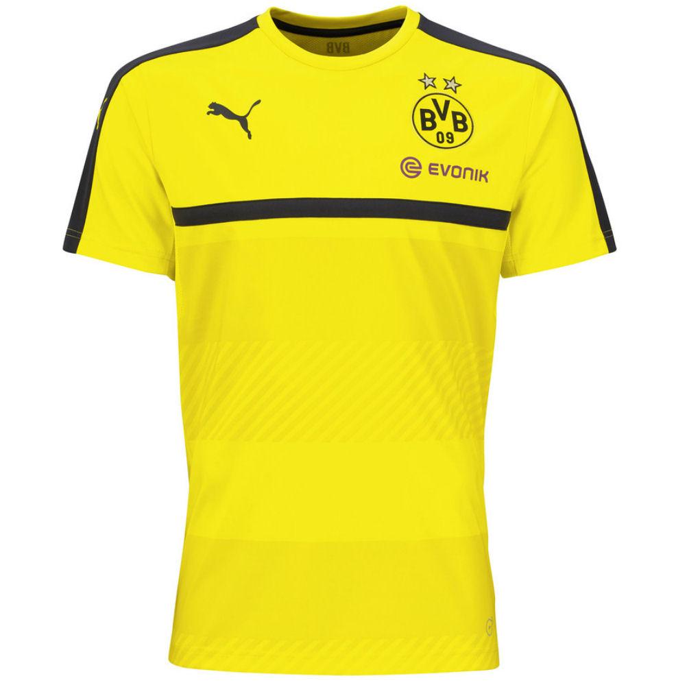 2016-2017 Borussia Dortmund Puma Training Shirt (Yellow) - Kids