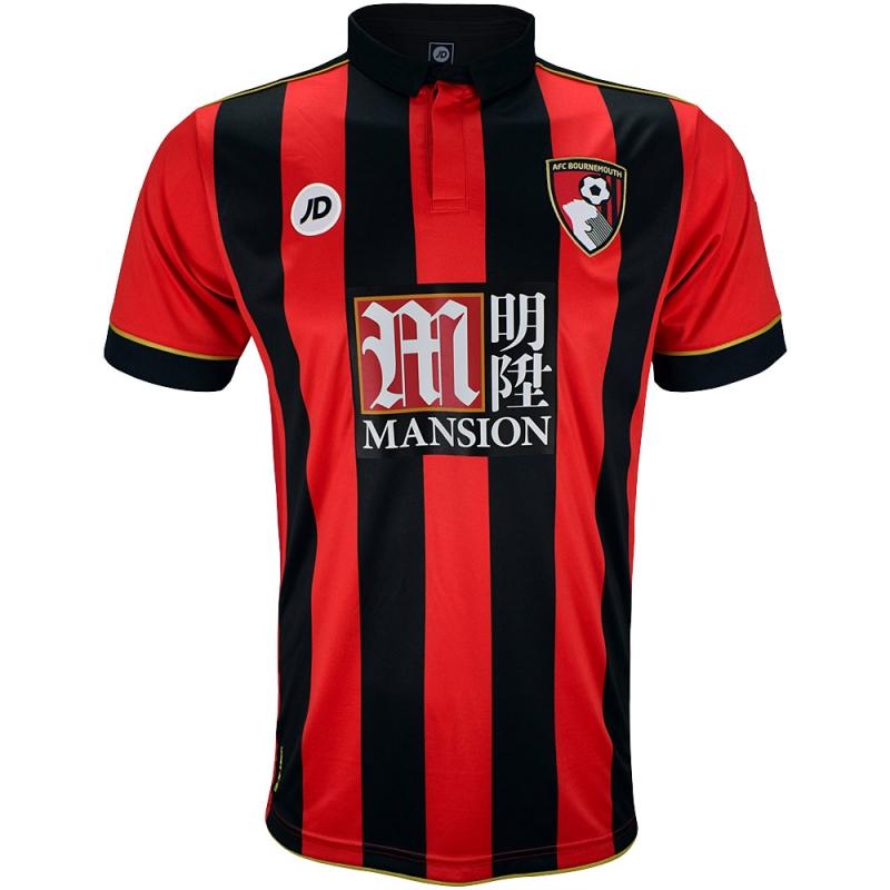 2016-2017 Bournemouth Home Football Shirt