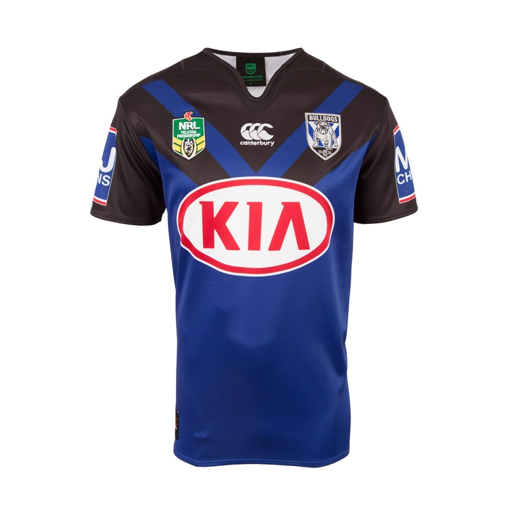 2017 Bankstown Bulldogs Canterbury Replica Away Rugby Jersey
