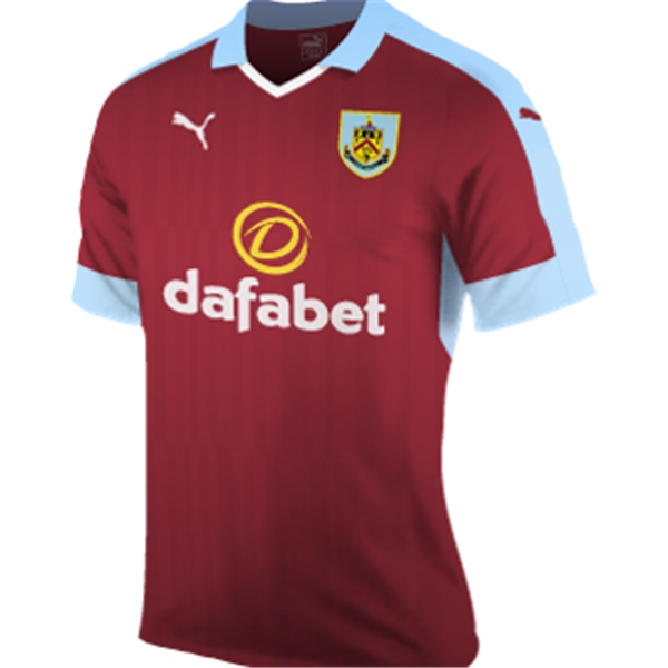 20162017 Burnley Puma Home Football Shirt