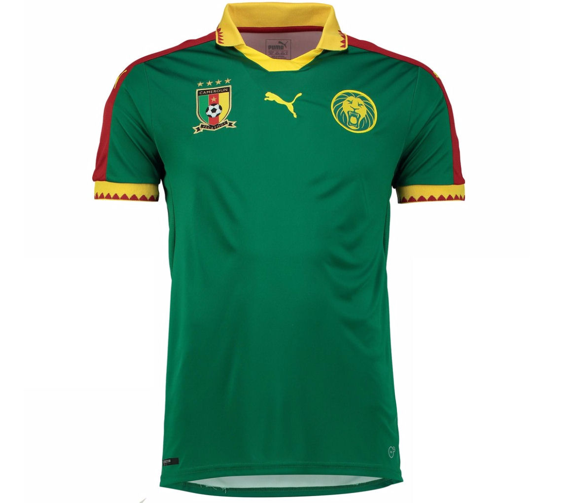 2016 2017 Cameroon Home Puma Football Shirt Achat Et Vente