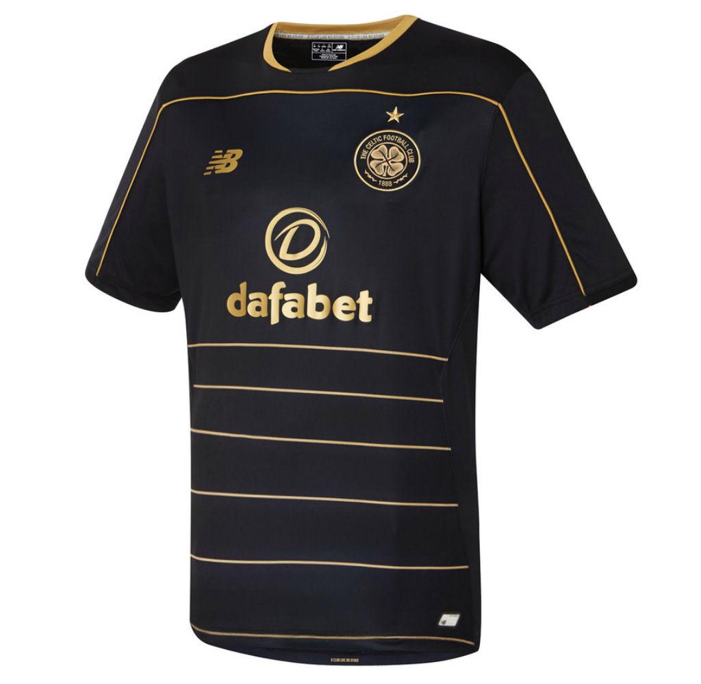 2016-2017 Celtic Away Football Shirt