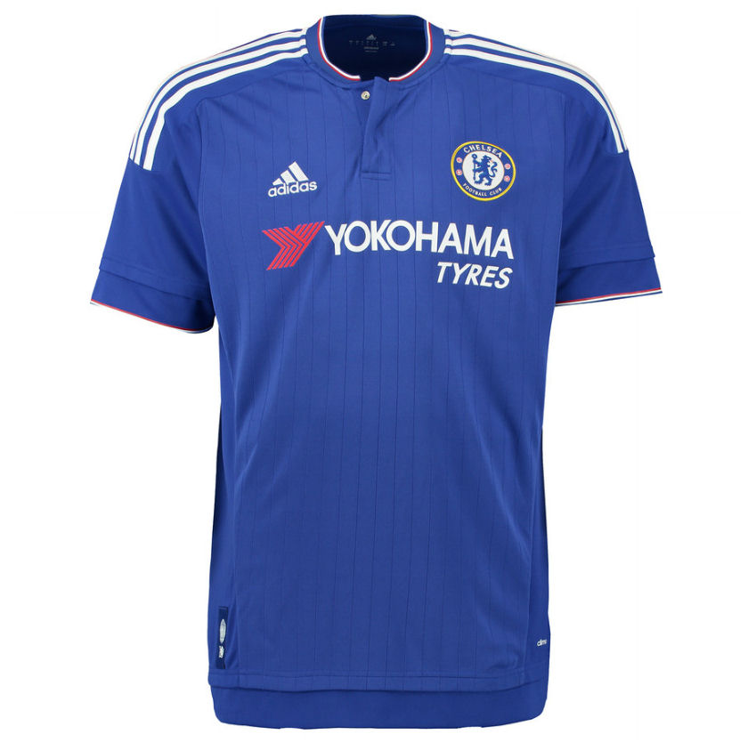 20152016 Chelsea Adidas Home Football Shirt (Kids)