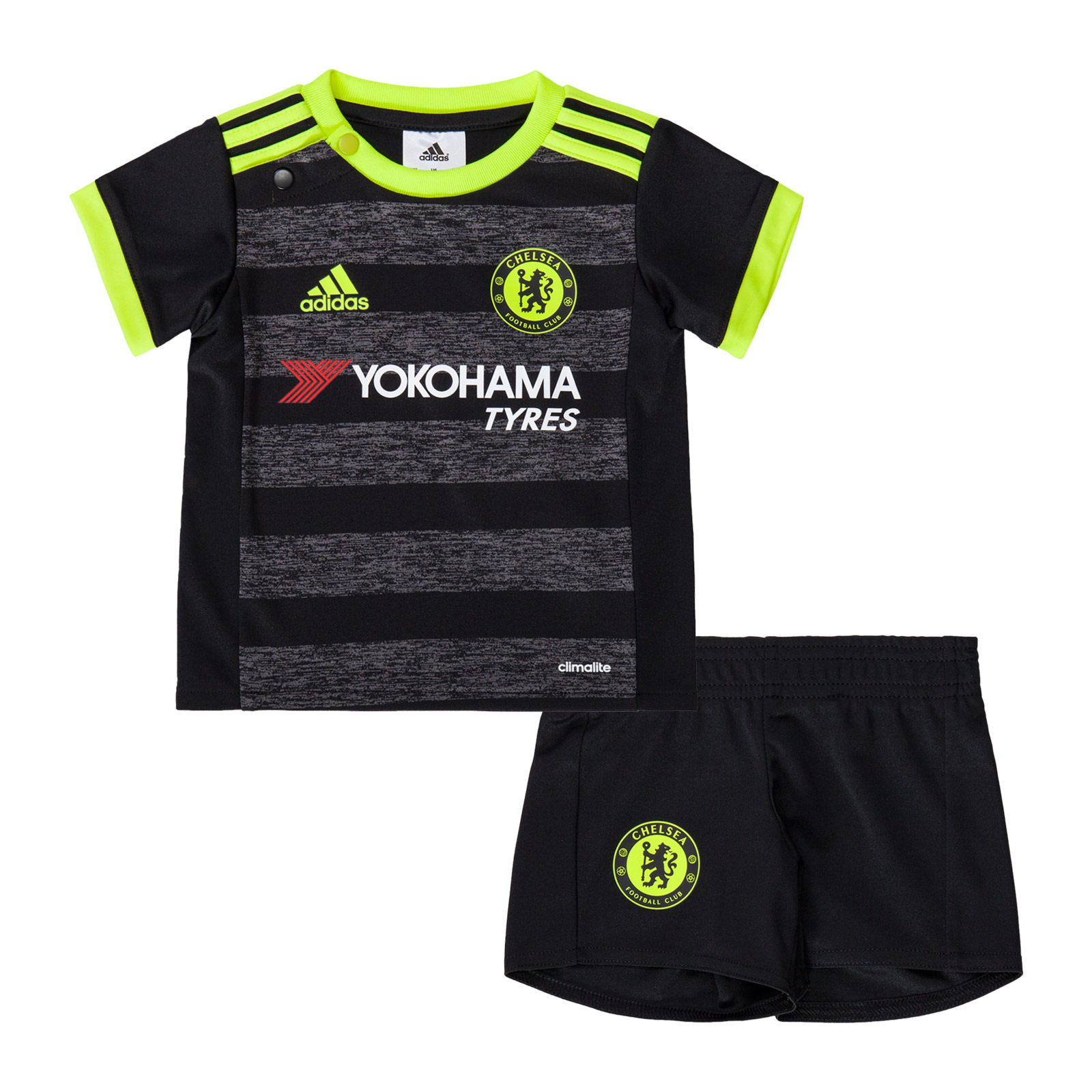 20162017 Chelsea Adidas Away Baby Kit