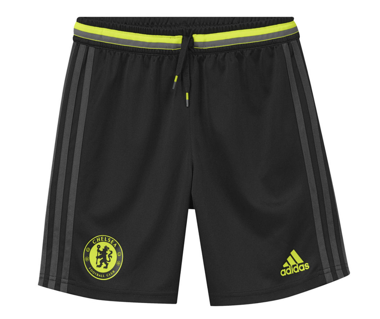 2016-2017 Chelsea Adidas Training Shorts (Black) - Kids