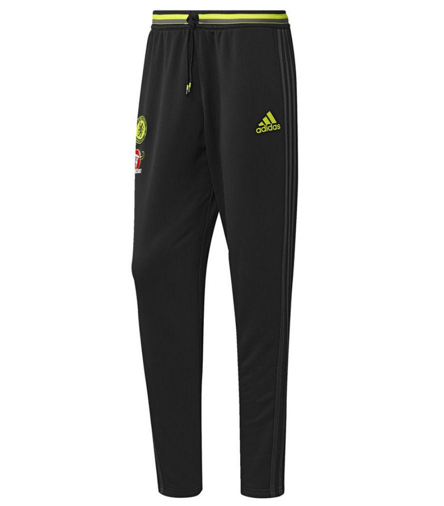 20162017 Chelsea Adidas Training Pants (Black)
