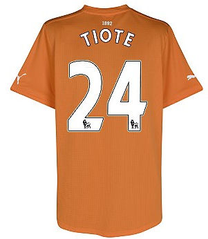 2011-12 Newcastle Puma Away Football Shirt (Tiote 24)
