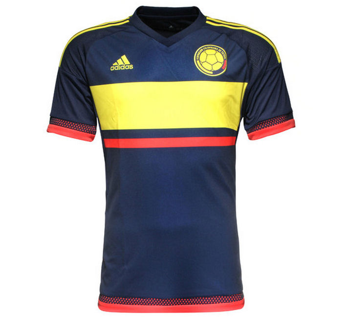 20152016 Colombia Away Adidas Football Shirt