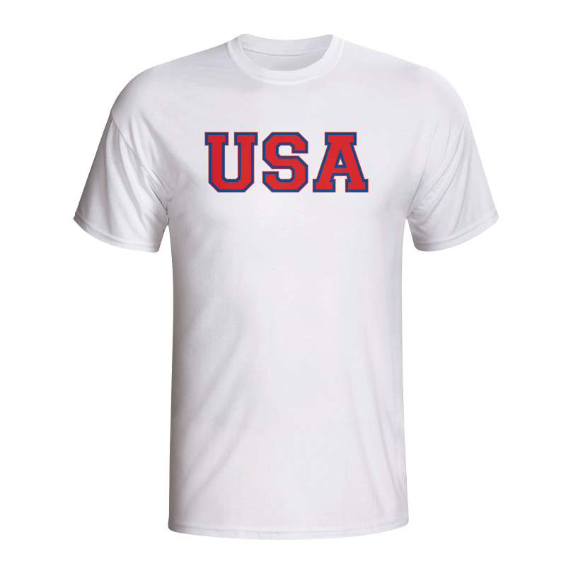 Usa Country Iso T-shirt (white)