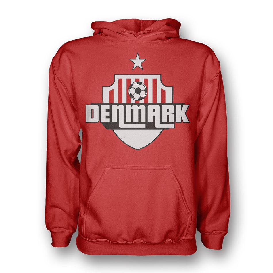 Denmark Country Logo Hoody (red)